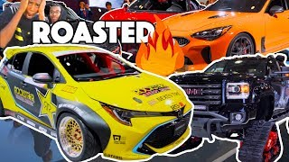 Roasting Cars at the New York International Auto Show