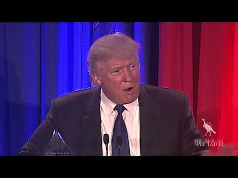 Donald Trump Accepts T. Boone Pickens Award (The American Spectator Bartley Gala 2013)