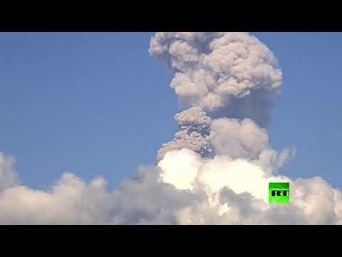 شاهد.. لحظة ثوران بركان بوبوكاتبتبيل في المكسيك  - نشر قبل 5 ساعة