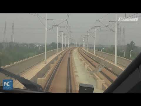 New high-speed trains put into operation between Beijing and Tianjin