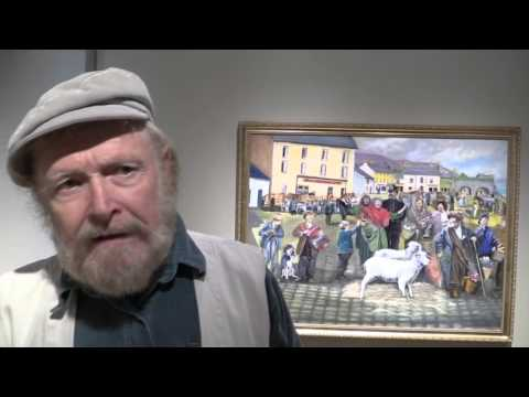 Will Millar - Once Upon an Irish Time - at Winchester gallery