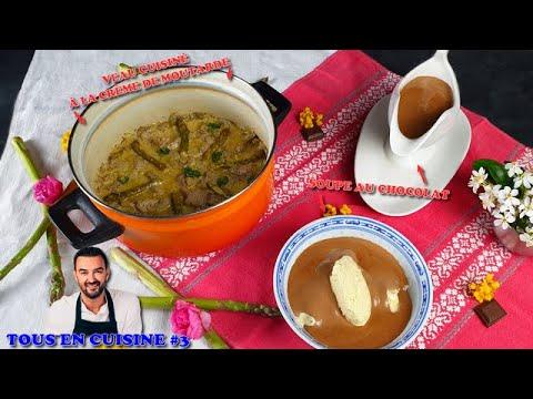 tous-en-cuisine-#3-:-je-teste-le-veau-cuisinÉ-À-la-moutarde-et-la-soupe-au-chocolat-de-cyril-lignac