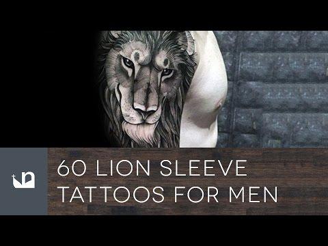 60 Lion Sleeve Tattoos For Men