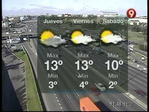 El pronóstico del tiempo para hoy
