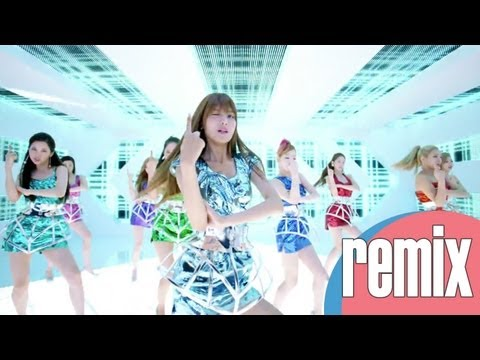 Girls' Generation - Galaxy Supernova (i5cream Remix)