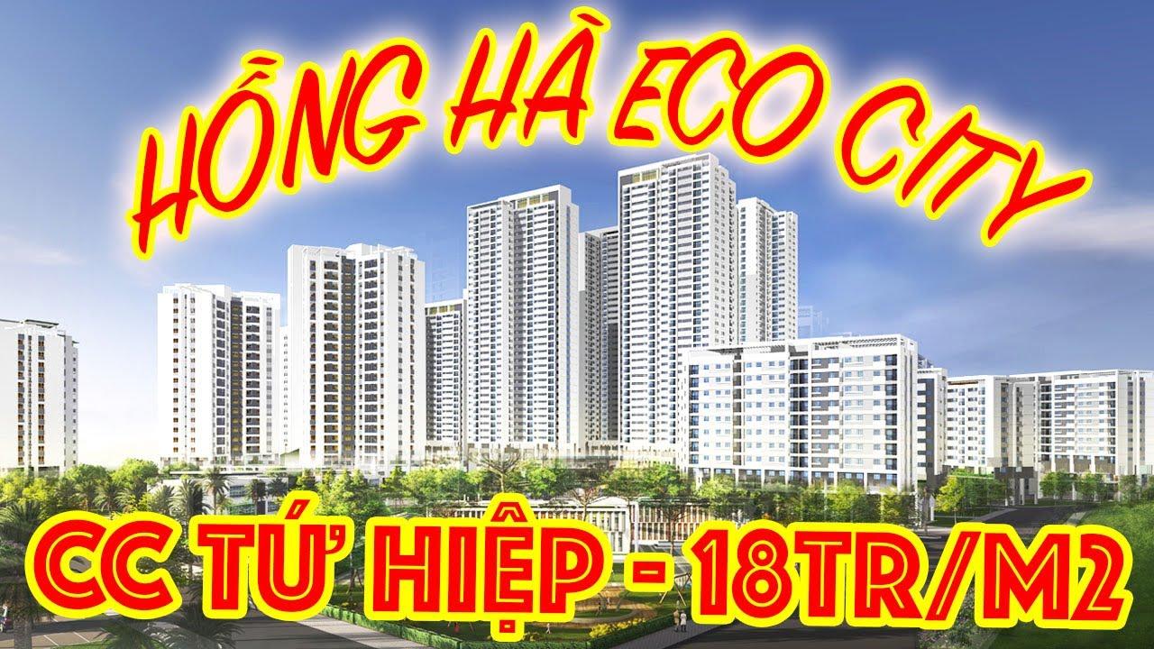 Chung cư HỒNG HÀ ECO CITY | Giá gốc CĐT chỉ từ 18 triệu/m2 | 0916981089