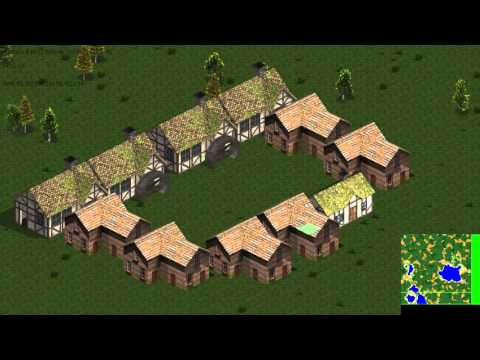 Pathfinding Demonstration for Real Time Strategy game.