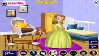 ソフィア初の姫茶室の装飾かわいいゲームとなって