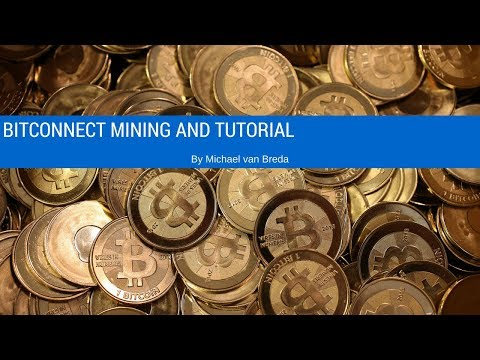 Bitconnect Mining And Setup Tutorial