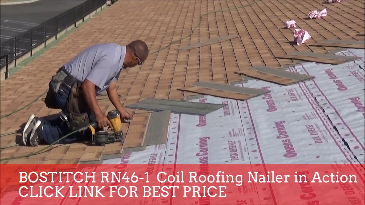 BEST ROOFING NAILER IN ACTION