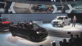 2016 Detroit Auto Show - Honda Press Conference