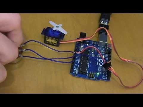 Tutorial: How To Control the Tower Pro SG90 Servo with