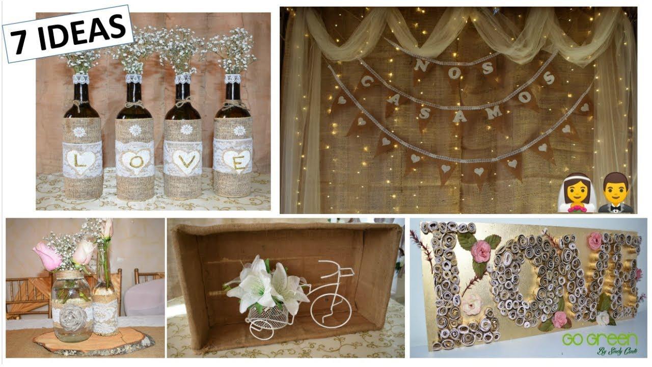 7 ideas f ciles y econ micas para decorar una boda - Ideas originales para una boda ...