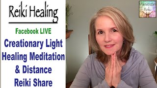 Creationary Light Meditation and Reiki Energy Shared with You