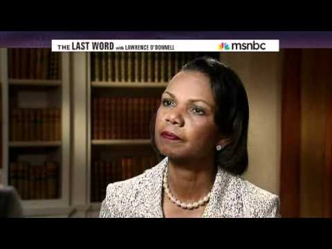 2011.05.05 - MSNBC - Condoleezza Rice Puts Radical Leftist Lawrence O