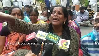 Kumbakonam News Oct 2020  Advocate Murder Saalai Mariyal Wife Byte on 13 10 2020