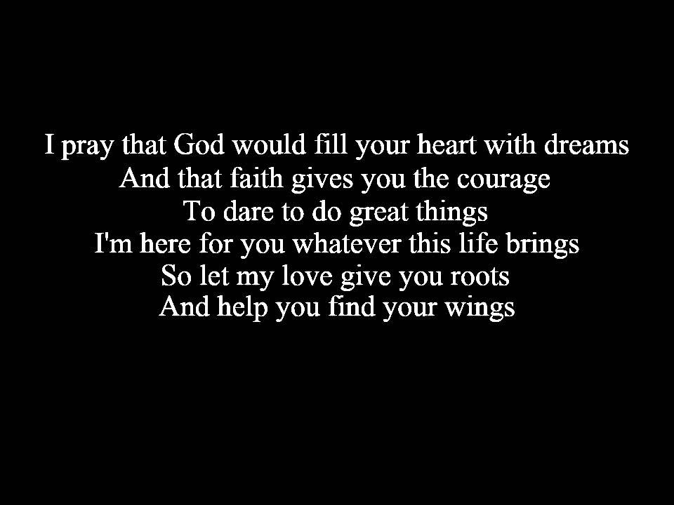 Lyric find my lyrics : Find Your Wings Mark Harris Lyrics Final - YouTube