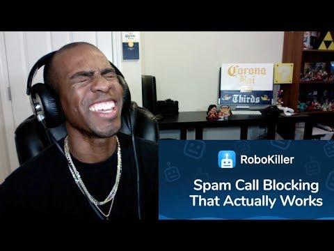 Reaction To RoboKiller App In Action