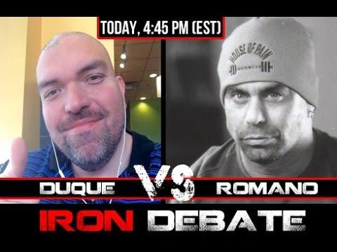 Romano KO's Duque! Iron Debate - 12/3/15 - Palumbo / Romano / Duque