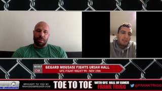 UFC Fight Night 99's Gegard Mousasi: 'I know what I did wrong the first time'