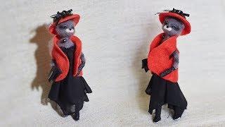 Подробный мастер-класс по сухому валянию из шерсти. Как сделать каркасную куклу своими руками.
