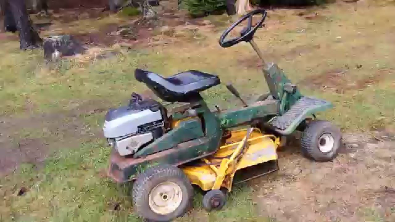 Mowmaster 2000 Racing Lawn Mower Project Youtube