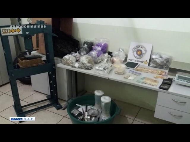 Caiu a casa: 3 são presos em fábrica de drogas em Sorocaba