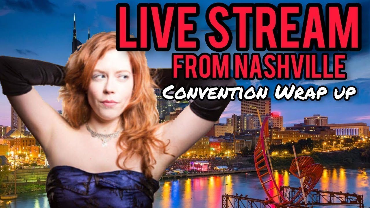 Download Chrissie Mayr Live Stream from Nashville! Convention Wrap Up! Special Guests