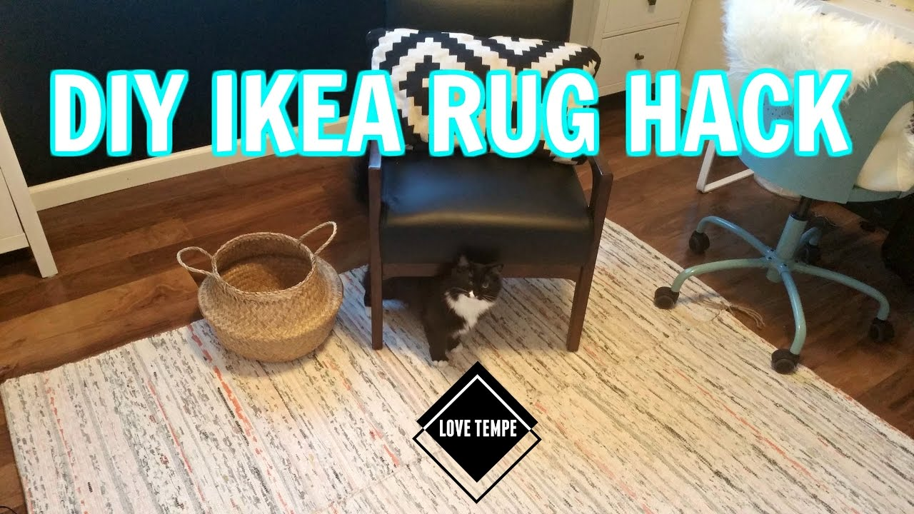 Diy Ikea Tanum Rug Hack Make A Giant Easy