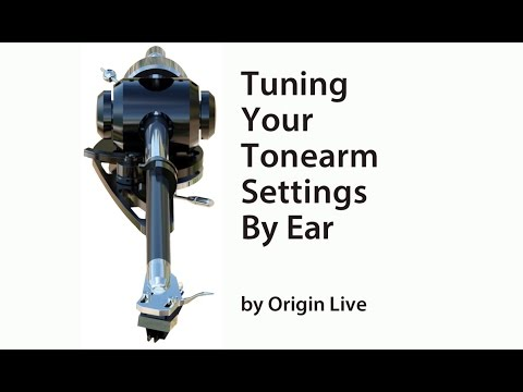 How to adjust tonearm set up and improve performance.