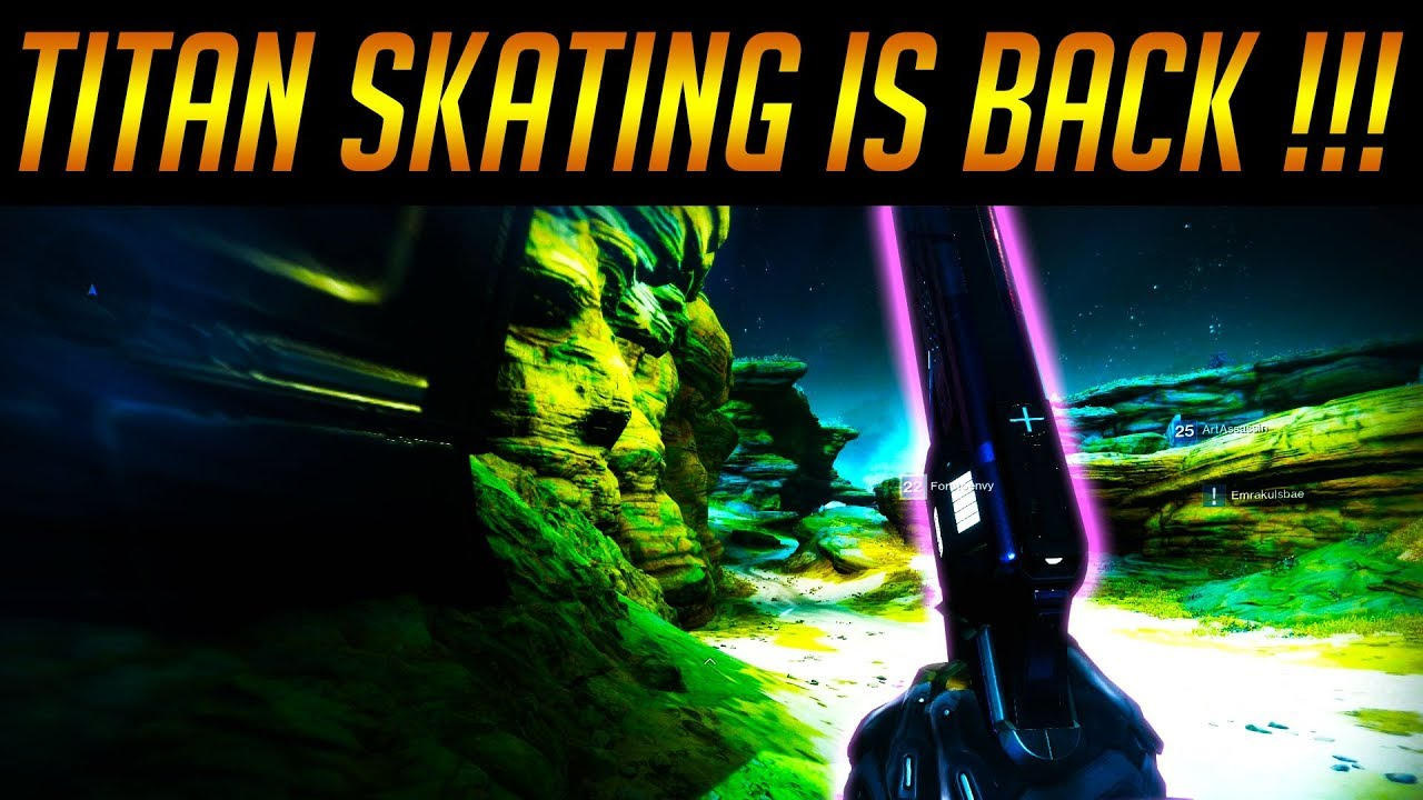 Destiny 2: TITAN SKATING is BACK !!! - With Macro