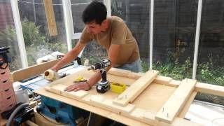 Build A Workbench With 4x2's & Scrap: Easy Budget Project! #1/3