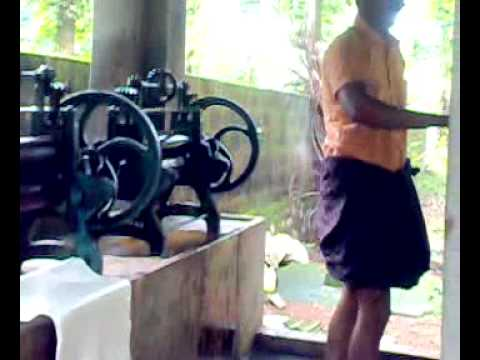 Rubber Machine In Kerala Youtube