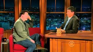 Late Late Show with Craig Ferguson 4/19/2010 Brendan Fraser, Amanda Righetti, Brian Scott McFadden