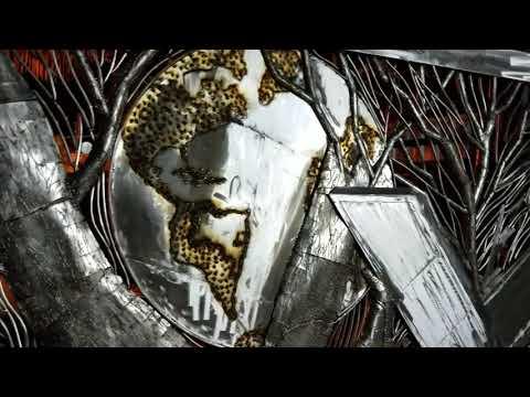 Portão em Aço InoxZe Vasconcellos Metal Sculptures - Metal Sculptures - Campinas - São Paulo - Brasil Portão em aço inox, la vie, metal sculptures, metal art, arte em metal, esculturas em metal, horse, cavalos, stainless steel sculpturas,