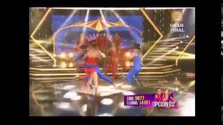 EL GRAN SHOW María Grazia Gamarra vs Janet Barboza: duelo final 01-08-2015