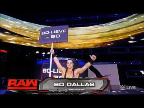 Bo Dallas entrance - BOLIEVE IN BO