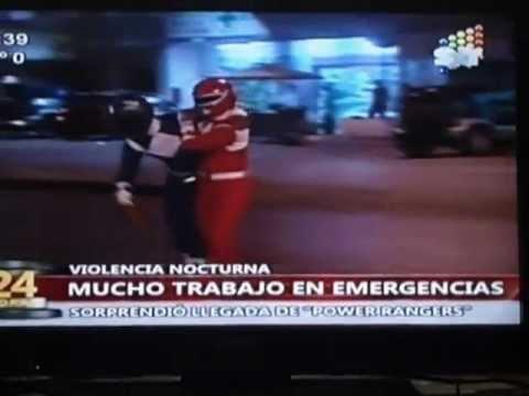 Power Rangers en Emergencias Médicas - Paraguay