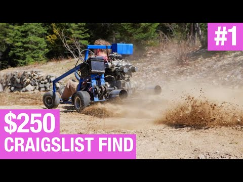 Stuffing A Dirt Bike Engine In A Power Wheels Mustang Is My
