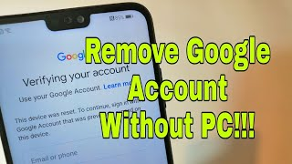 Huawei P20 Pro CLT-L29. Remove Google account, bypass frp.
