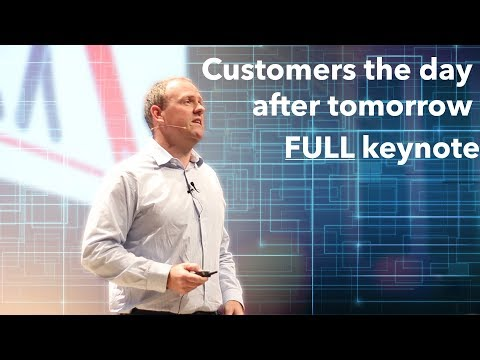 Full keynote Customers the day after tomorrow at Showpad event 2017