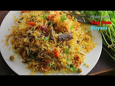 Veg Dum Biryani| Authentic Hyderabadi Veg Dum Biryani|పక్కా కొలతలులు టిప్స్ తో  పర్ఫెక్ట్  బిర్యాని