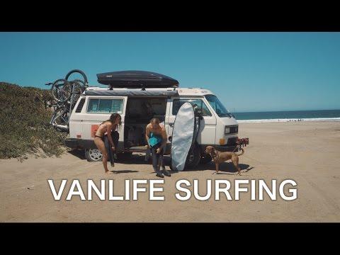 VanLife - Surfing Central California