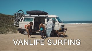 VanLife - Surfing Central California