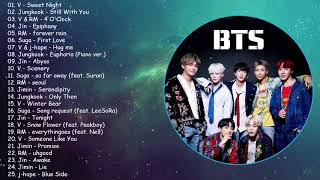 BTS solo ballad songs playlist 2021 (chill, relax, sleep)