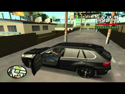 gta san andreas bmw x5 mod youtube. Black Bedroom Furniture Sets. Home Design Ideas
