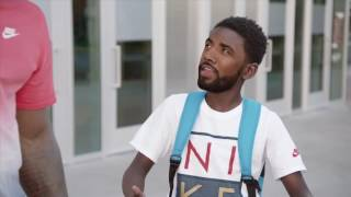 Kyrie Irving Face Swap Goes Horribly Wrong In Funny Footlocker Ad!