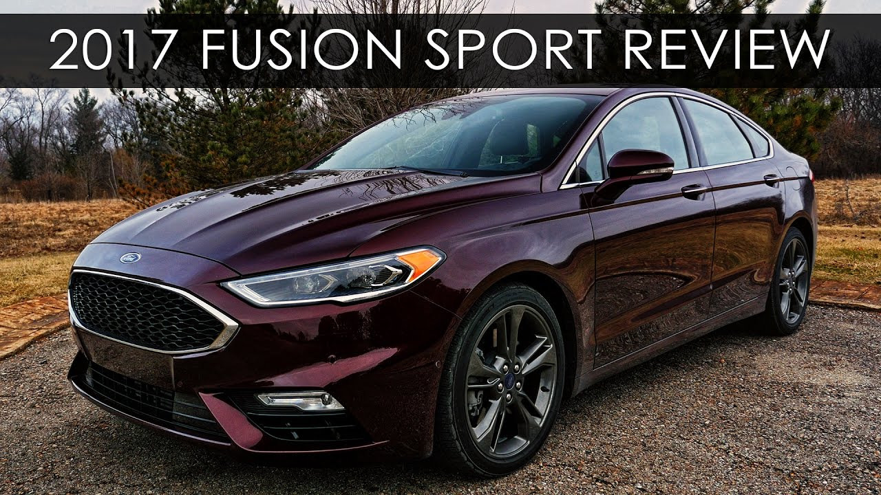 Ford Fusion Sport >> Review | 2017 Ford Fusion Sport | Twin Turbo Tutelage - YouTube