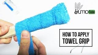 Video How to: Wrap a Badminton Racket with Towel Grip - YumoTube download MP3, 3GP, MP4, WEBM, AVI, FLV Agustus 2018