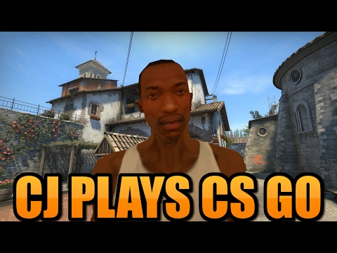 CJ Plays CS:GO